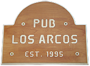 Pub Los Arcos: Open from 1995
